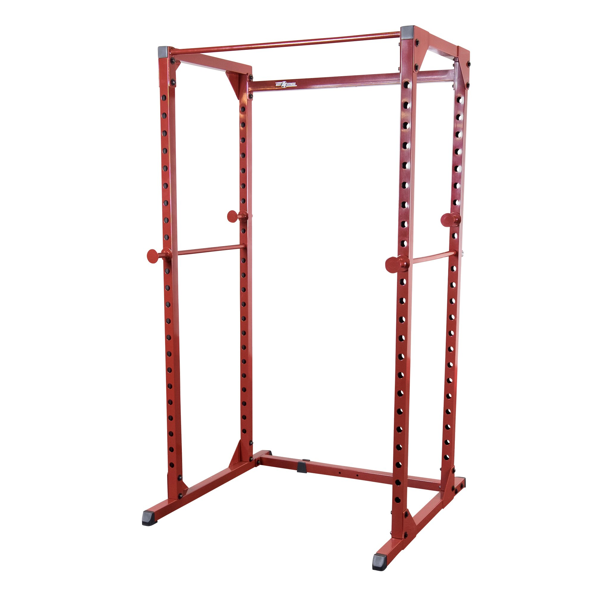 Best Fitness Power Rack Package Red Frame/ black Upholstery by Best Fitness (Image #2)