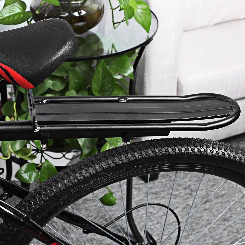 fitTek aleación de aluminio ajustable para bicicleta asiento trasero bicicleta Rack - Alforjas para bicicleta bolsa de transporte: Amazon.es: Hogar
