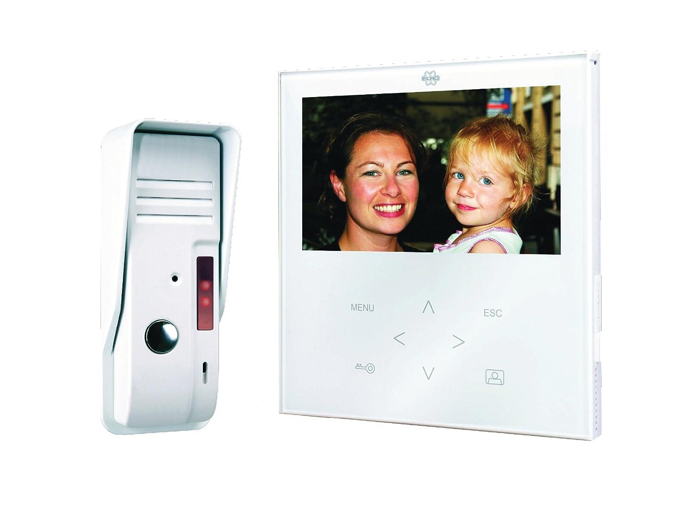 Elro VD71 - Unidad interior video portero color blanco Byron