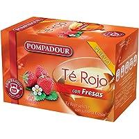 Pompadour Té Rojo con Fresas - 20 Bolsitas