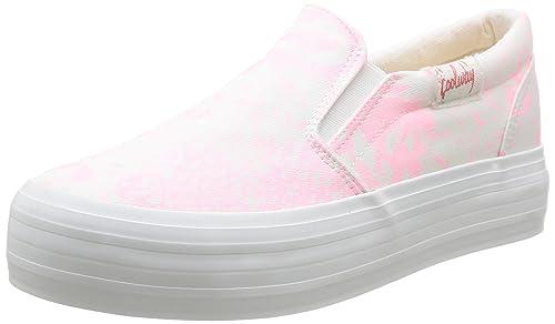 Coolway Dodoslip - Zapatillas de deporte de canvas para mujer Rosa Rose (Pnk/Pink) 38: Amazon.es: Zapatos y complementos