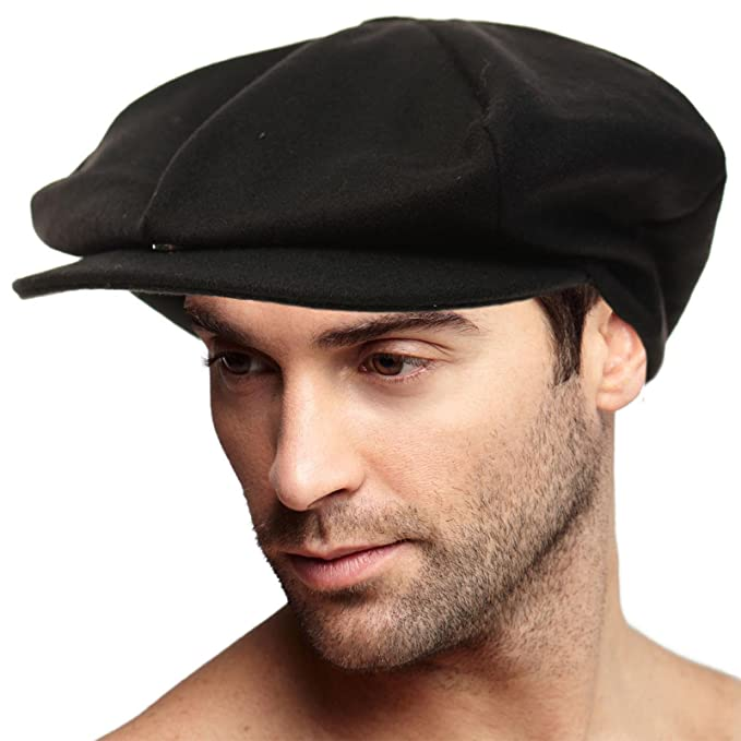 SK Hat shop Men s 100% Winter Wool Super Oversized newsboy Drivers Cabby Cap  Hat XL 0c8d2d5f7c9