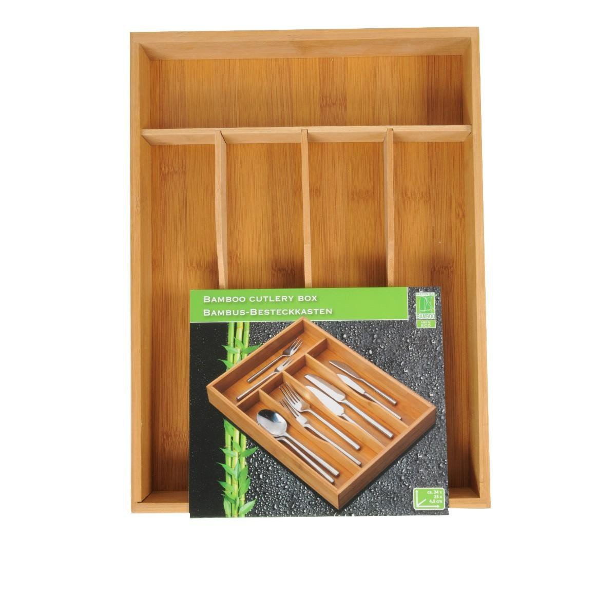 Cutlery Tray Bamboo Cutlery Tray Cutlery Tray Kitchen Tableware EDCO