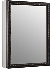 Kohler K 2967 BR1 Aluminum Cabinet With Oil Rubbed Bronze Framed Mirror Door