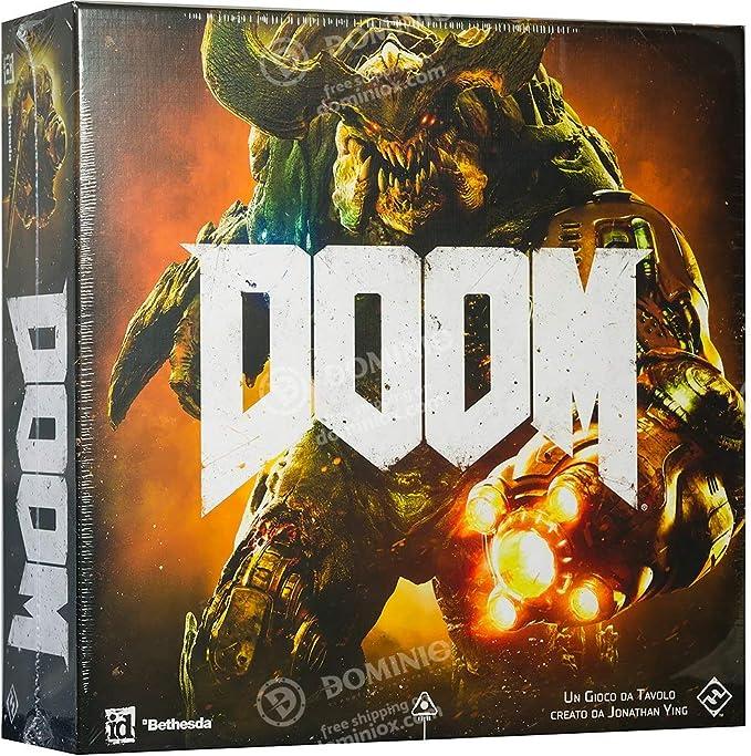 Asmodee- Doom: El Juego de Mesa Edición íntegramente en Italiano ...