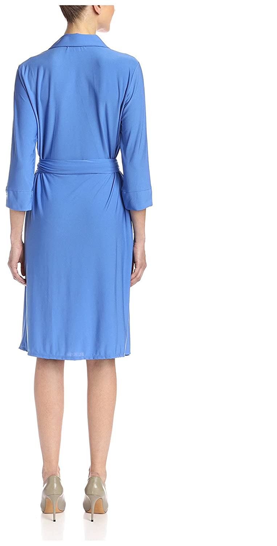 Melissa Masse Womens Wrap Dress