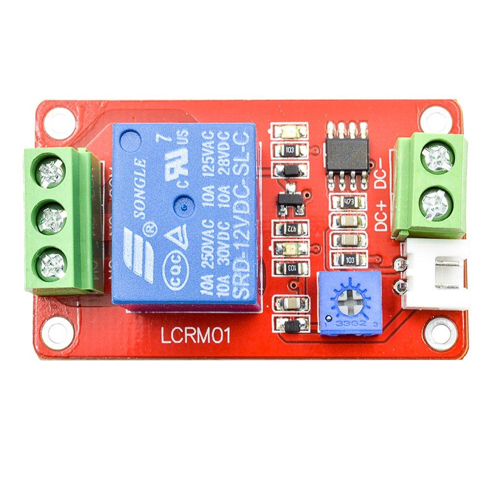 Geri 12v Light Control Switch The Photoresistor Plus Turnoff Delay Device Relaycontrol Controlcircuit Circuit Relay Module Detection Photosensitive Sensor Sports Outdoors