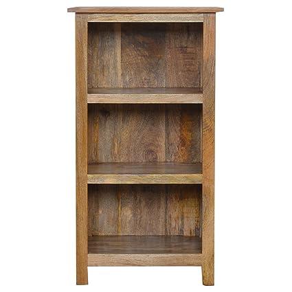 Artisan mobili rustici libreria con 3 Ripiani, in Legno, con ...