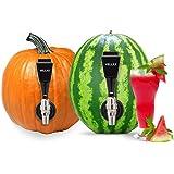 Watermelon Tap Kit Beverage Dispenser - Fruit Keg Tapping Kit & Coring Tool - Juice DIY Spigot, Beer Faucet, Great Spout…