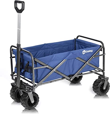 Sekey Collapsible Outdoor Wagon Cart