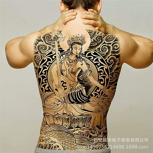 zgmtj Tatuaje en la Espalda Llena de Tatuajes Panorama Completo de ...