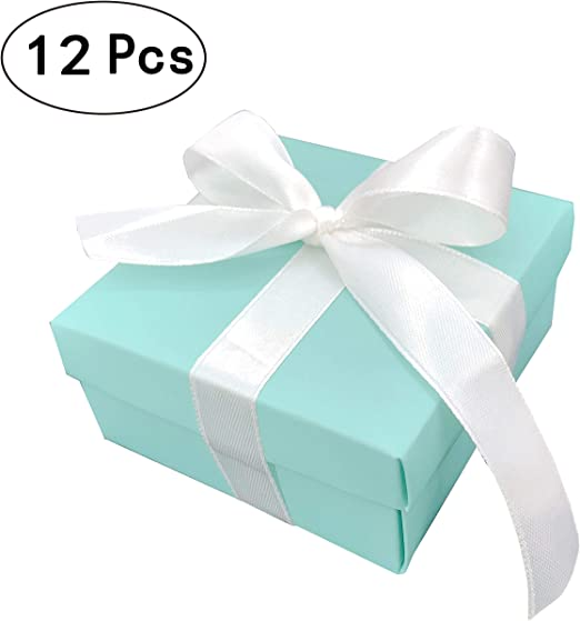 48 BLUE PARTY FAVOR TREAT BOXES BAG GREAT FOR BIRTHDAYS WEDDING  BABY SHOWER