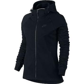 8c05a7ffa6015 Nike W NSW TCH FLC Hoodie FZ Sweat-Shirt pour Femme: Amazon.fr ...