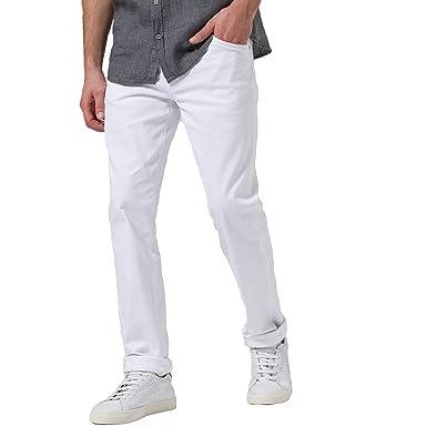 fashion style authentic quality best place Brax Herren Jeans Chuck Modern Fit Hi-Flex-Hose White, Größe ...