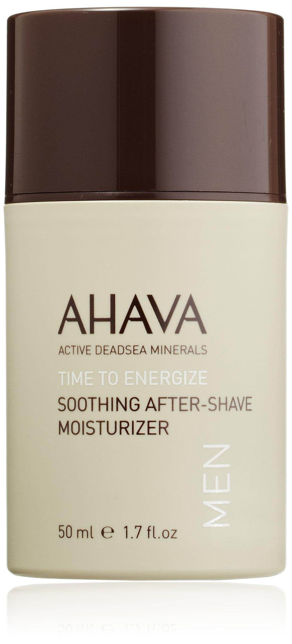 AHAVA Soothing After Shave, Time to Energize, Moisturizer for Men, 1.7 Fl Oz