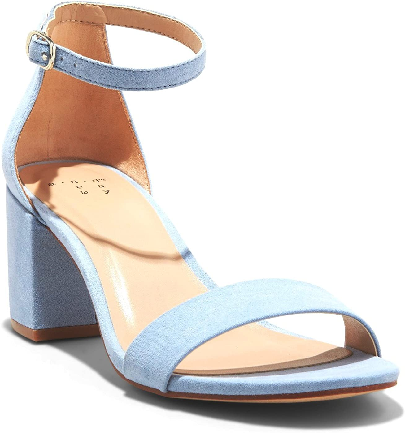 A New Day Women/'s Winona Ankle Strap Sandals Choose Size//Color