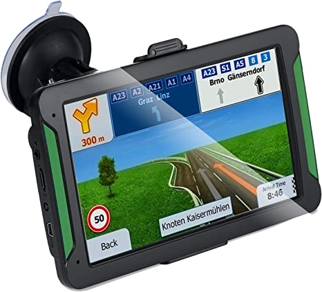 "8GB 7/"" Truck Car GPS Navigation Navigator USA  World Map 2019"