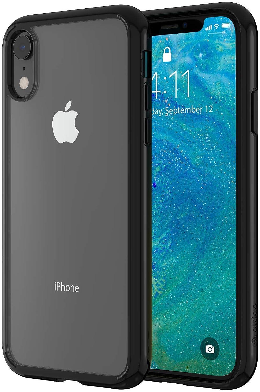 finest selection d557c 96ae5 Altigo iPhone XR Case - Clear Case with Solid Black Bumper