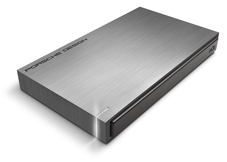 LaCie Porsche Design 2TB 3.0 USB Mobile External Hard Drive (LAC9000459) (Renewed)
