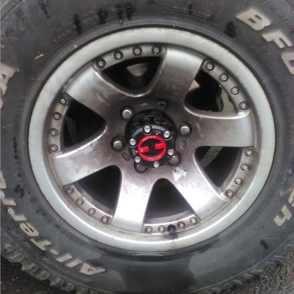 Licor 1 par de rueda libre Hub Lock Set para Isuzu Trooper II KB 2500 1987 - 93, para Isuzu D-MAX de recogida 2005-Up, para Opel Frontera 1991-up, ...
