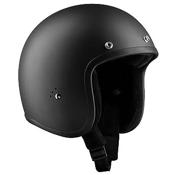 Bandit Helmets Jet Casco Negro Mate