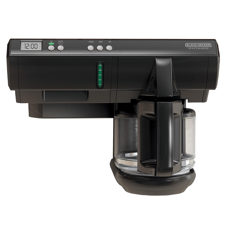 Amazon.com: BLACK+DECKER SCM1000BD SpaceMaker Under The Cabinet 12 Cup  Programmable Coffeemaker, Black: Kitchen U0026 Dining