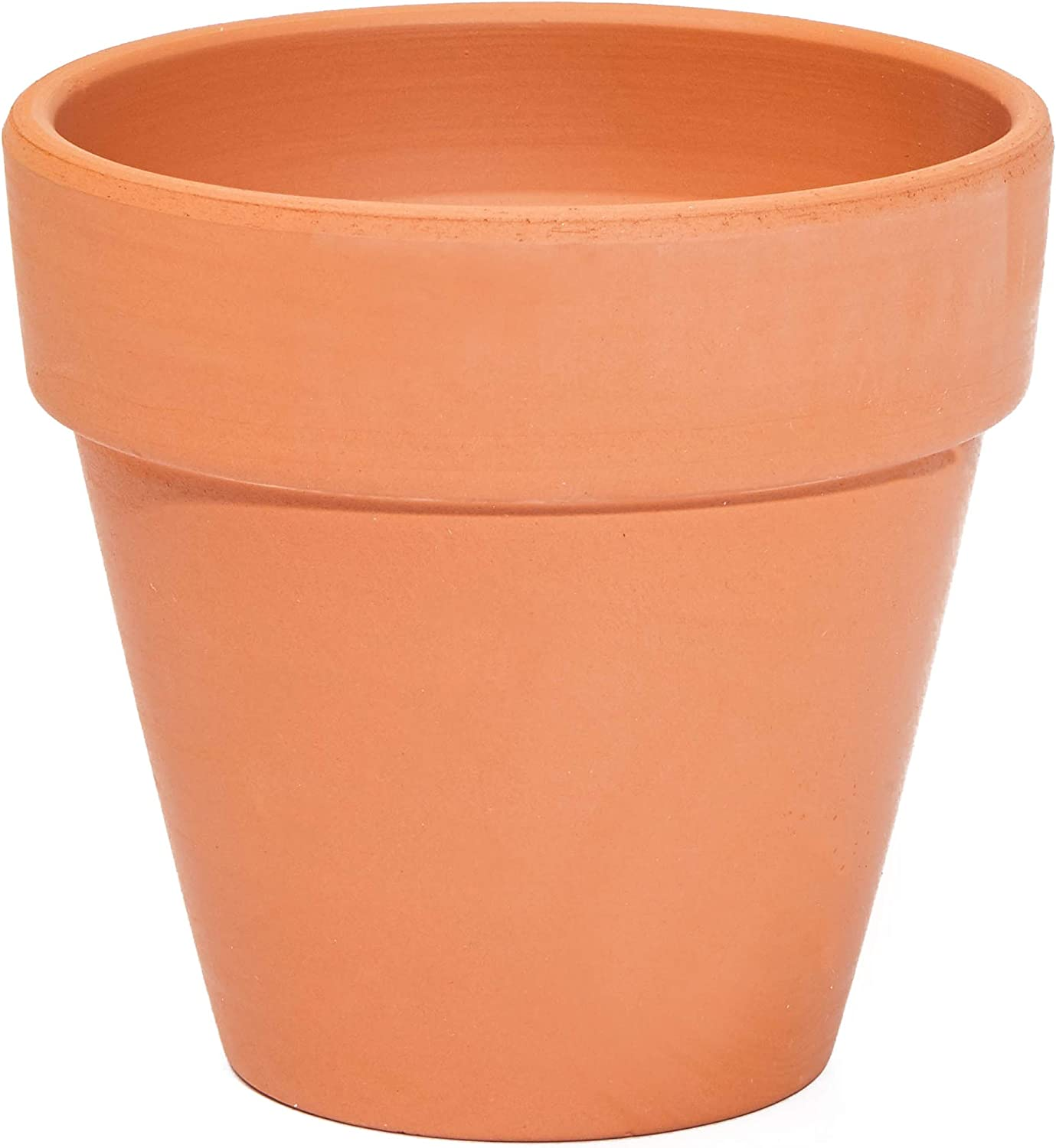 Terra Cotta Pots with Saucers 4 in, 6 Pack