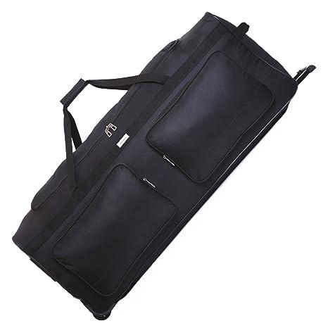 Slimbridge Loomis XXL 102 cm Bolsa de Viaje con Ruedas, Negro