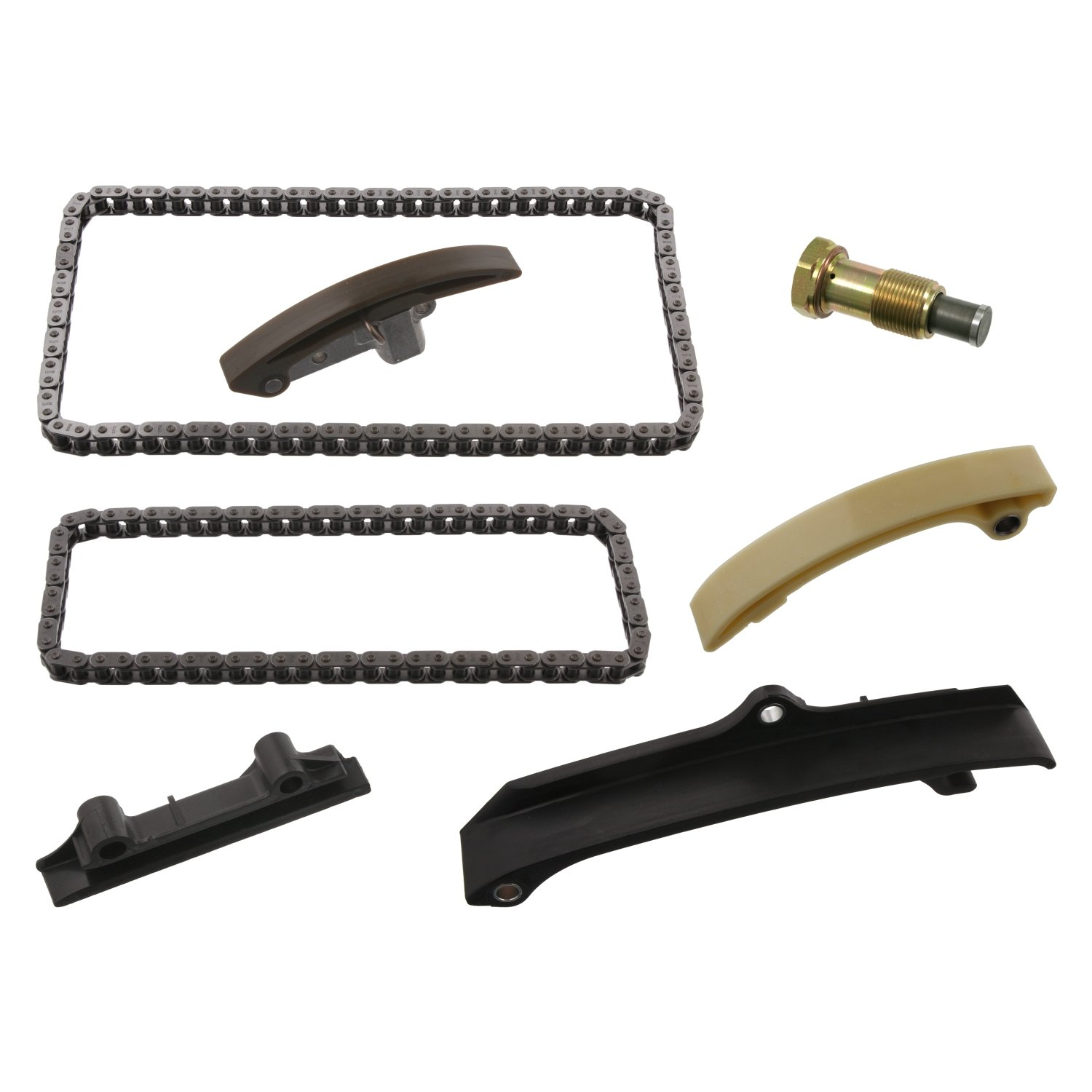 febi bilstein 33985 timing chain kit with runners and chain tensioner - Pack of 1