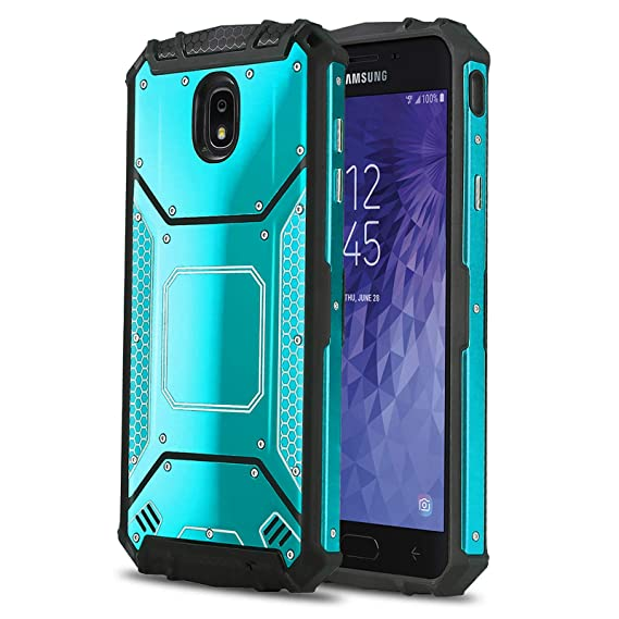 info for 397b8 664d5 Phone Case for [Samsung Galaxy J7 Star (T-Mobile, MetroPCS)], [Alloy  Series][Blue] Aluminium [Metal Plate] Military Grade Heavy Duty Cover for  Samsung ...