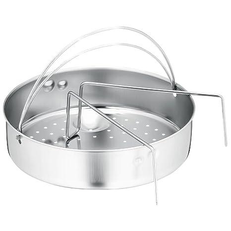 Fagor - Cestillo olla rapida con orificios - Portacomidas - 22 cm