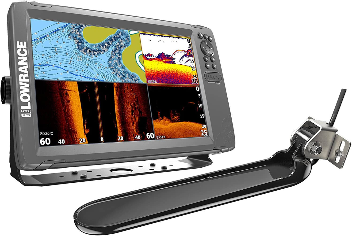 Lowrance 000 – 14026 – 001 hook2 Triple Shot, Pescado Finder y ...