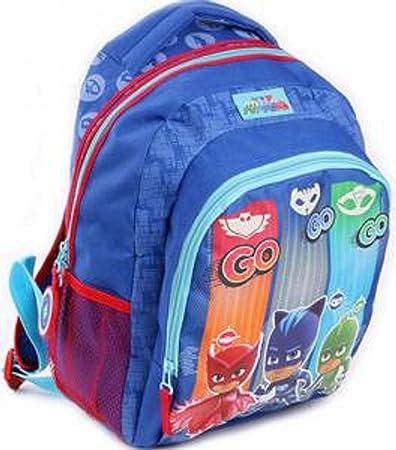 Vadobag PJ Masks Gogogo - Sac A Dos Bleu 35Cm 1 Poche Soufflet Mochila Infantil, 35 cm, Azul (Bleu)