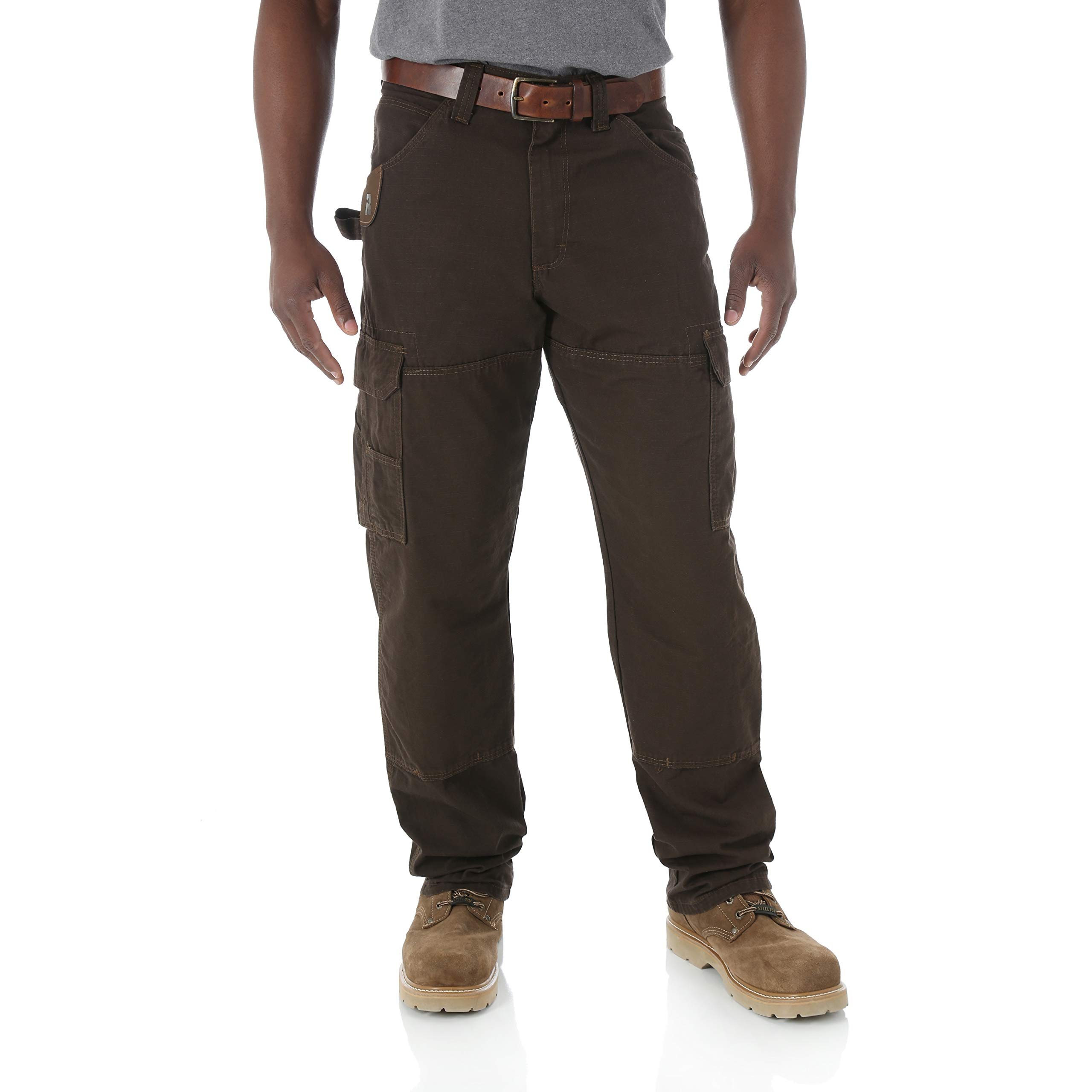 Riggs Workwear by Wrangler Mens Ranger Pant,Dark Brown,40x34