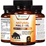 Natural Male XXL Capsules Natural Stamina, Strength & Mood - Extra Strength Energy Support - Made in USA - Prime Performance