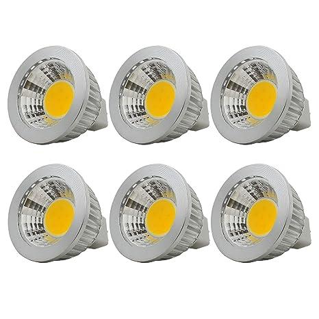 MR16/ GU5.3 Bombillas LED 3W luz Blanca Cálida 2700K 210LM, AC/