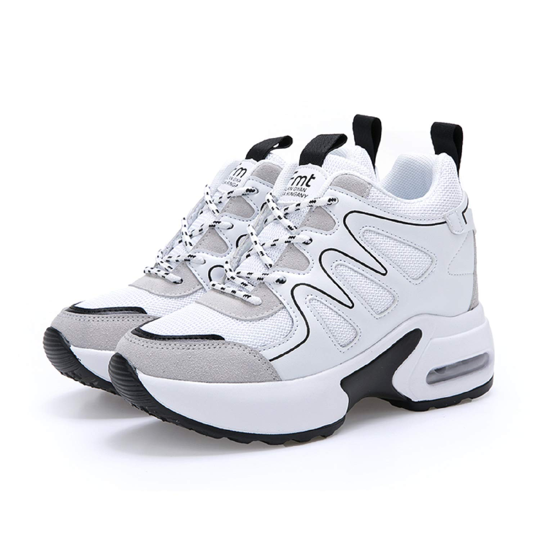 AONEGOLD Sneakers Donna Zeppa Interna Scarpe da Ginnastica