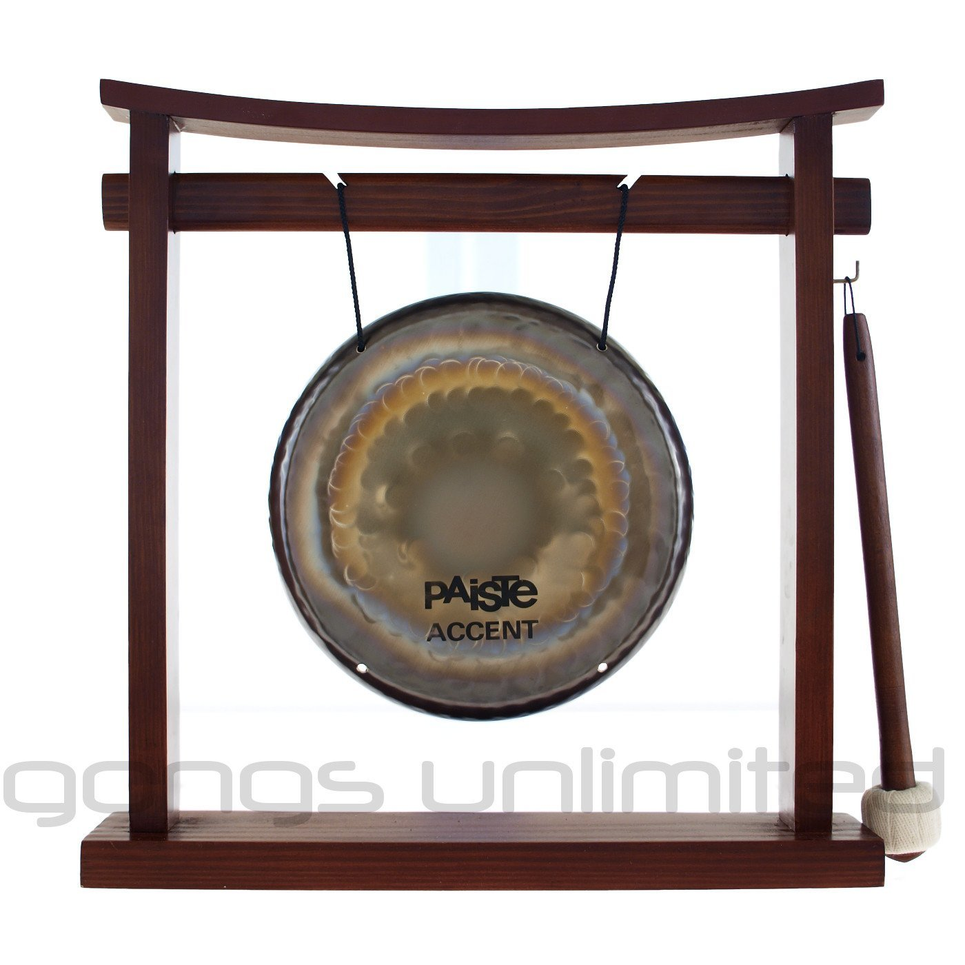 Paiste Accent Gongs on Stands by Unlimited