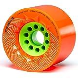 Orangatang Caguama 85 毫米长板轮,适用于巡游,DIY 电动滑板,踏板(4 件套)