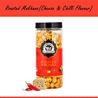 WONDERLAND FOODS (DEVICE) Roasted Makhana Cheese and Chilli Foxnuts, 100 g