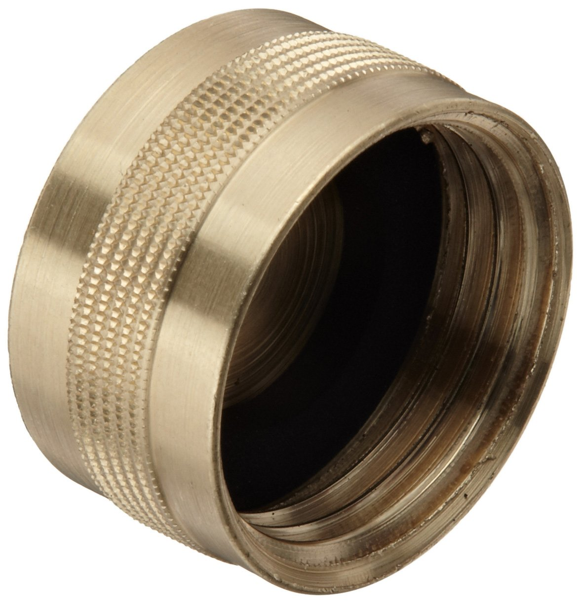Dixon GHC7 Brass Garden Hose Fitting Cap 3//4 GHT Female