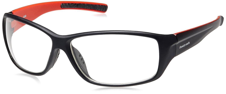 Fastrack Springers Rectangular Sunglasses (P293WH2|64|Transparent ...