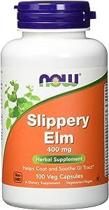Now Foods Slippery Elm, 400 mg, 100 Caps