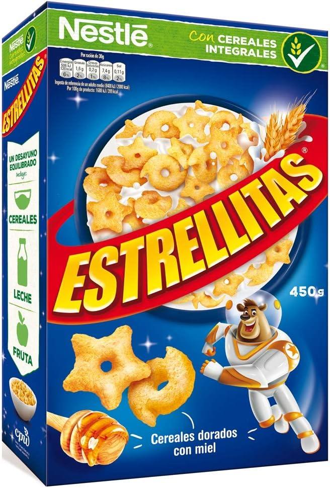 Cereales Nestlé Estrellitas Cereales de trigo y maíz tostados ...
