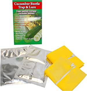 VivaTrap! Cucumber Beetle Trap with Multi Pheromone Lure (2 Pack)