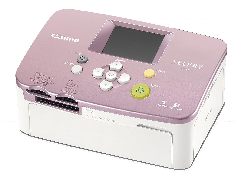 Canon Selphy CP760 - Impresora fotográfica (300 x 300 DPI ...