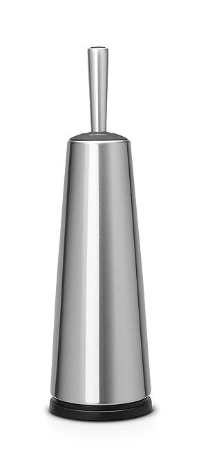 3 opinioni per Brabantia Classic De Luxe Portascopino WC, Inox Satinato