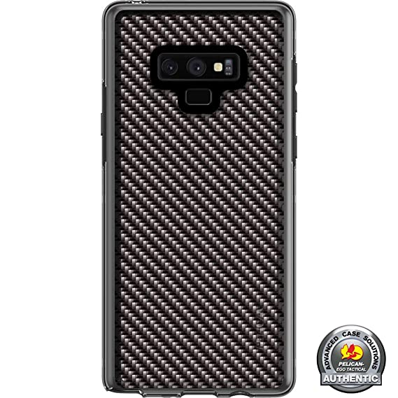 finest selection 02886 66fc5 Limited Edition Customized Prints by Ego Tactical Over a Pelican Adventurer  Case for Samsung Galaxy Note 9 - Black Carbon Fiber