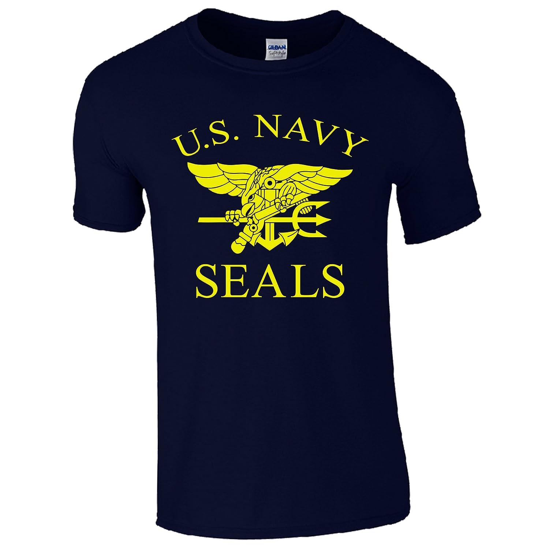 Maglietta unisex con scritta US Navy Seals