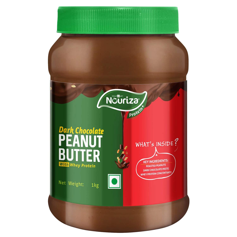 Nouriza Dark Chocolate Peanut Butter (Whey Protein, 1 kg)